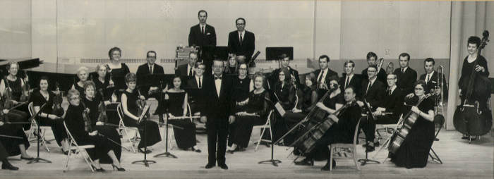 Early photo of the Juneau Symphony